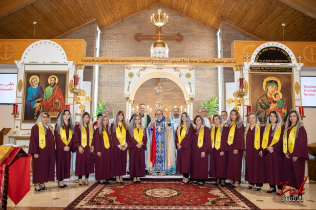 Deaconess (Mzamronyotho) Ordination at Sts Peter and Paul Church in Michigan